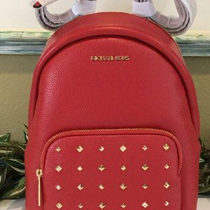 MICHEAL Micheal Kors Backpack Leather Flame